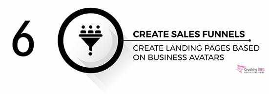 create sales funnel