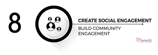 create social engagement