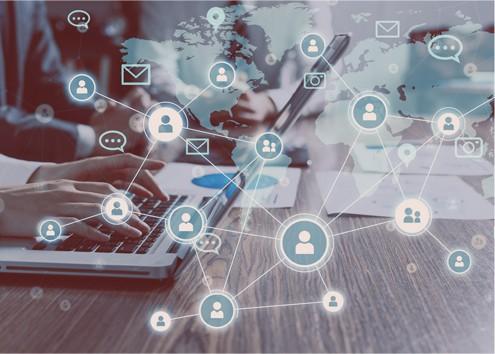 social media marketing diagram