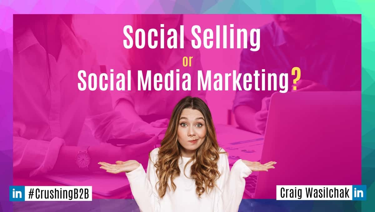 girl confused about social selling and social media marketing