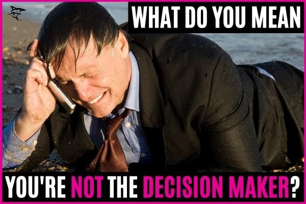 decision maker - linkedin lead generation