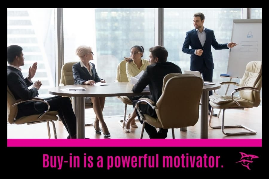 What motivates a sales team?